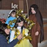 Presepe vivente e tombolata con le famiglie, 21/12/2014