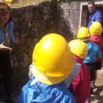 Visita Castorini alla cisterna del CIIP di San Marco, 3 giugno 2018