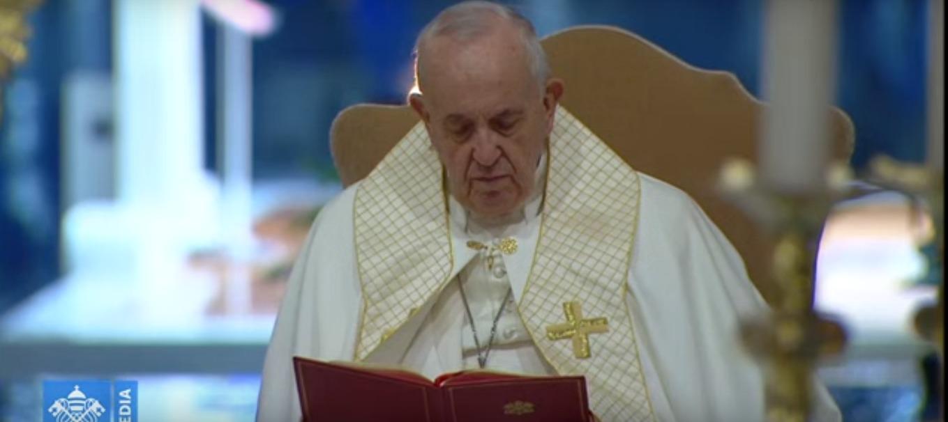Coronavirus – Momento straordinario di preghiera del Papa in tempo di epidemia